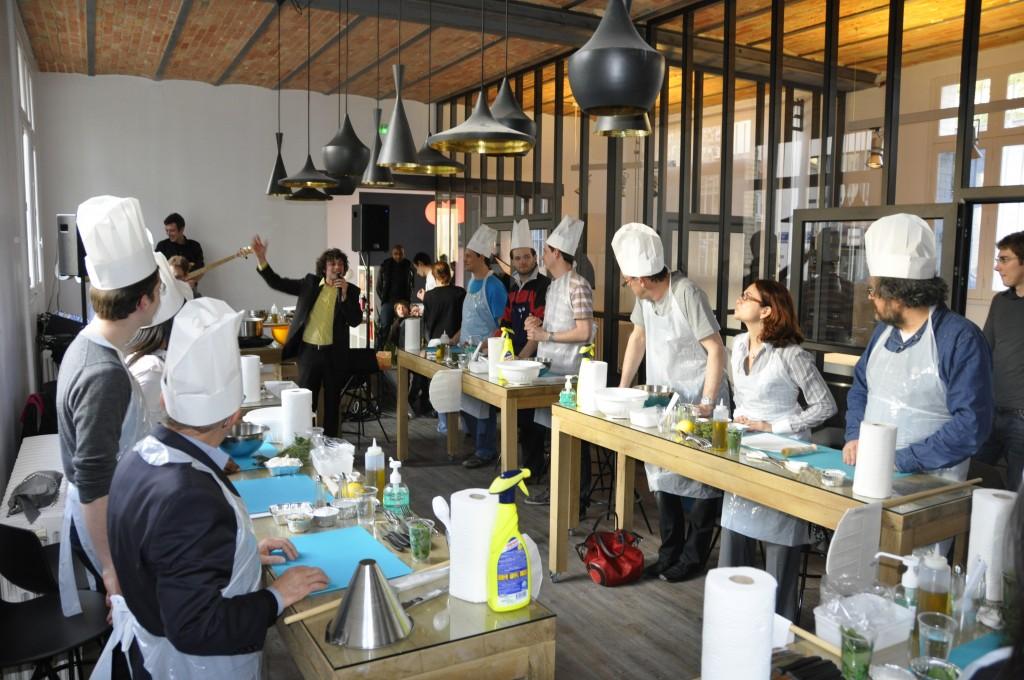 Atelier challenge cr atif kitchen studio - Cours de cuisine amateur ...
