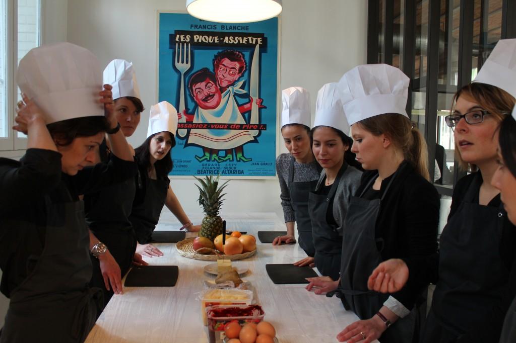 Cours cuisine pi ces cocktails kitchen studio - Cours de cuisine boulogne billancourt ...